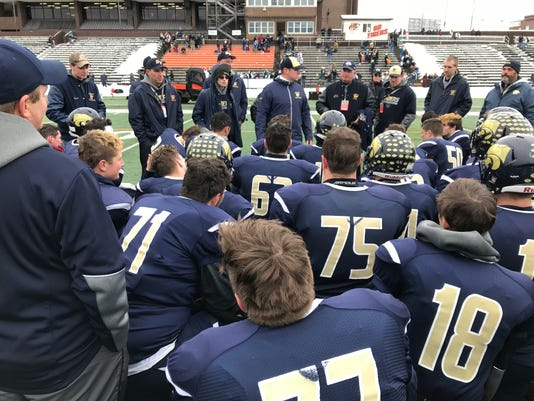SV breaking down a state semifinal victory.