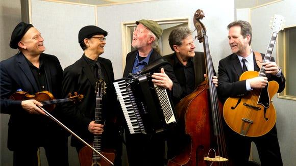 Pearl Django play gypsy jazz Nov. 23 and 24 at Morso in Gig Harbor.