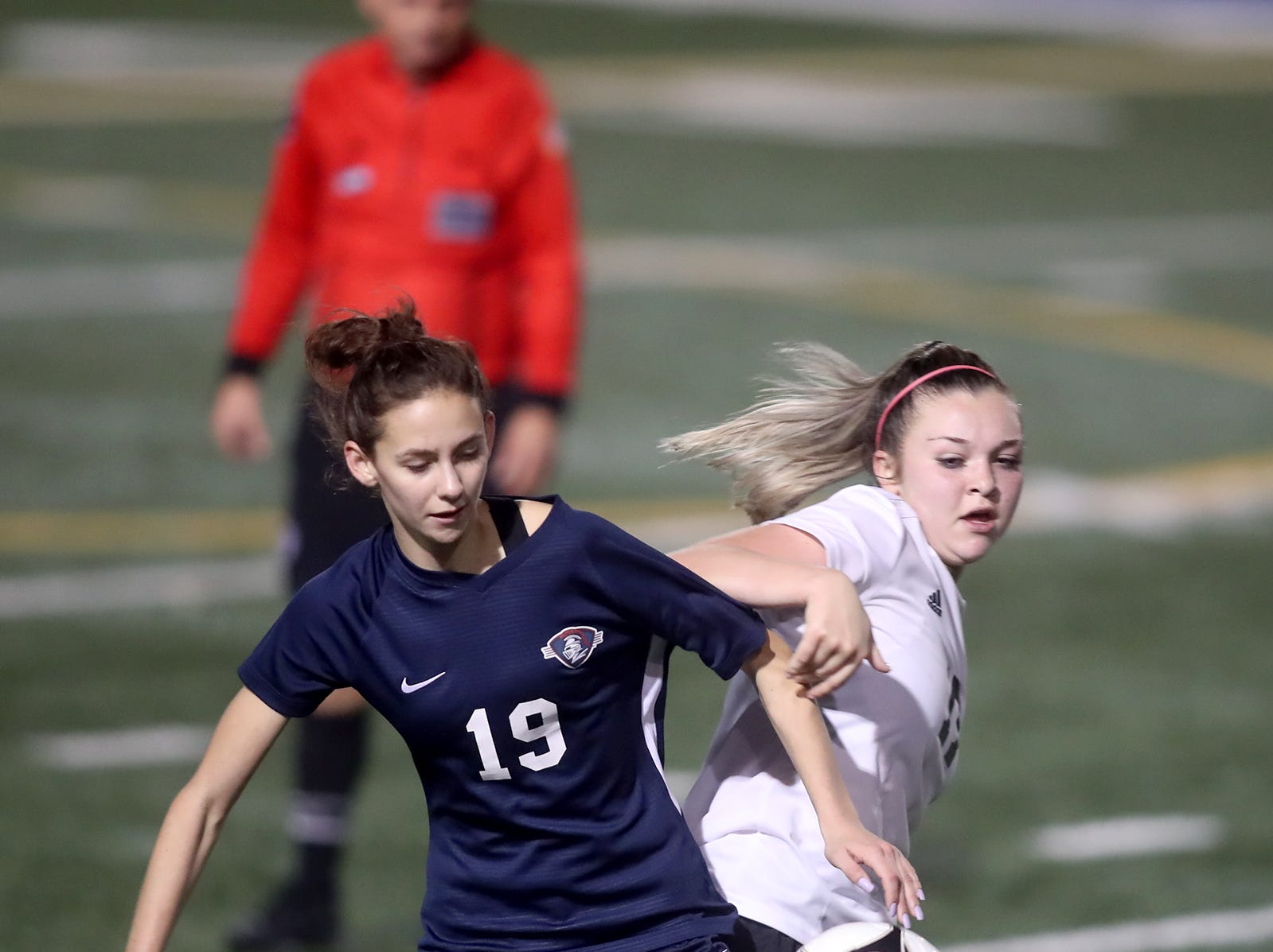 Klahowya lost to King's Way in the 2018 Girls Soccer State Championship 1A semifinal game at Shoreline Stadium on Friday, November 16, 2018.