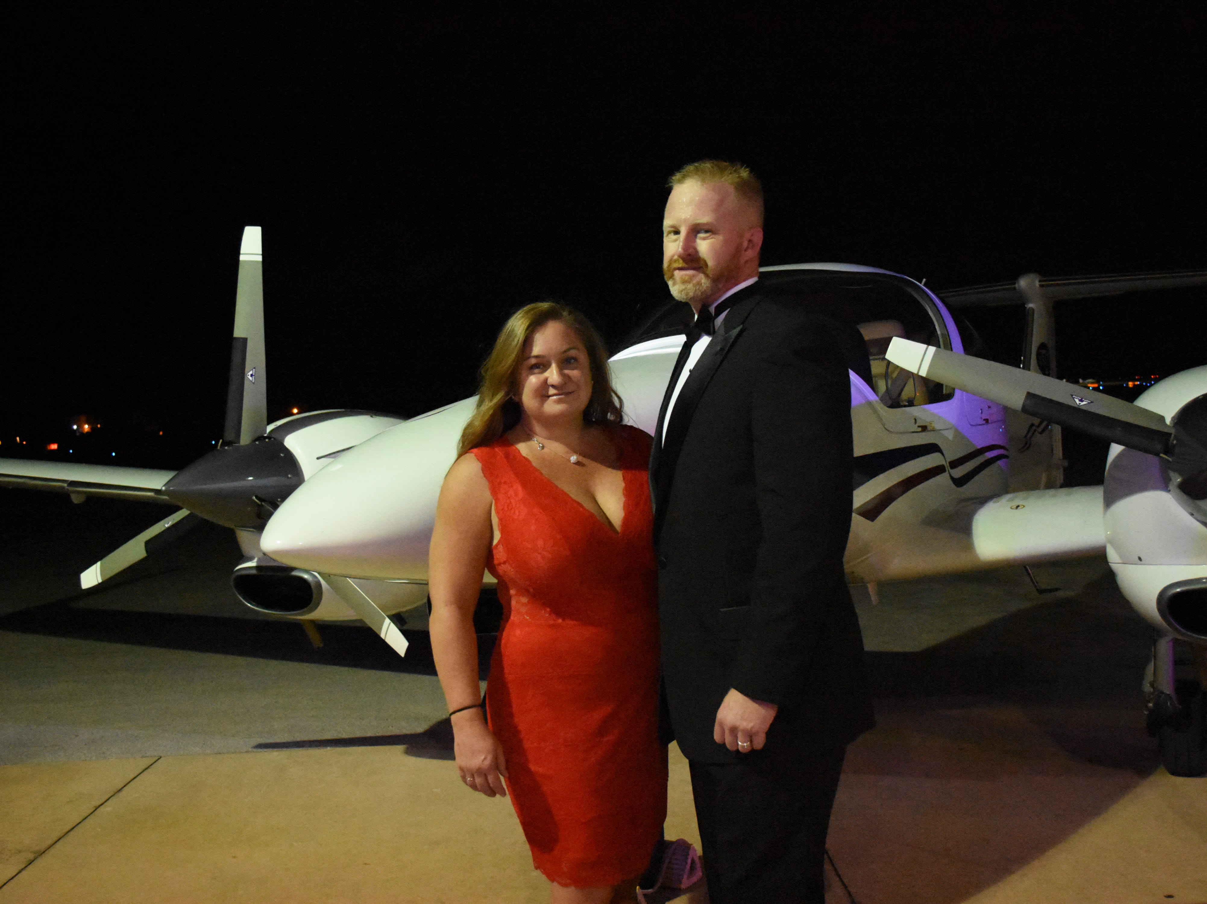 USATS President Chad Copeland and his wife Robyn pose for a photo.