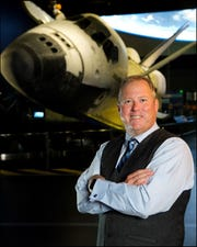 Therrin Protze, chief operating officer of the Kennedy Space Center Visitor Complex