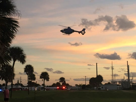 One injured after powered parachute hits electrical lines in Melbourne Beach