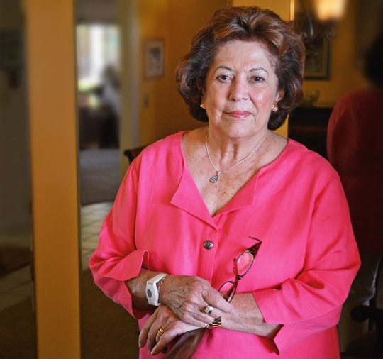 Carol Ellis of Viera, retired real estate broker and community volunteer