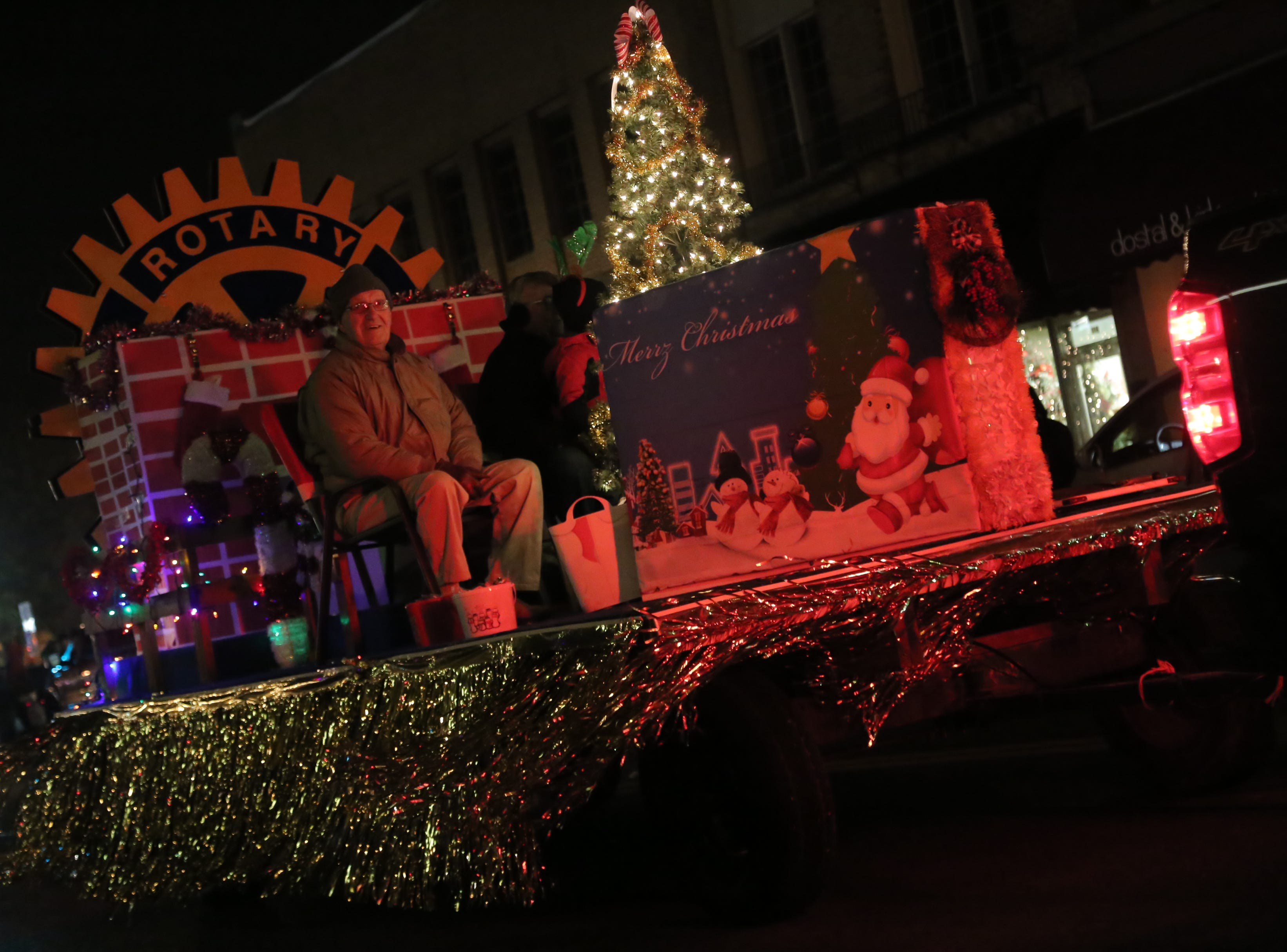 The annual Bucyrus Christmas parade took place in downtown on Friday evening.