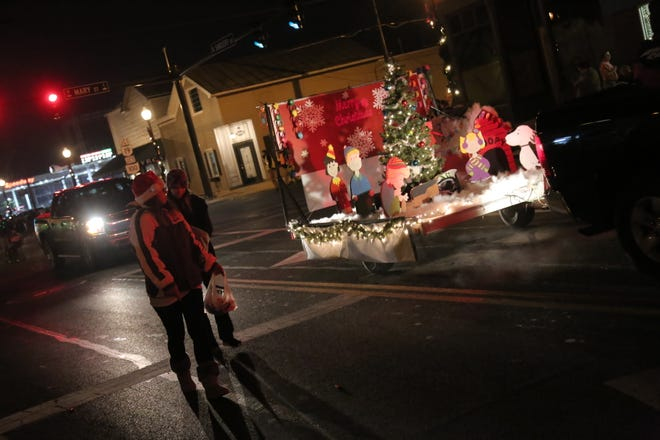 The annual Bucyrus Christmas parade took place in downtown on Friday evening. Many other community events are planned over the next month.