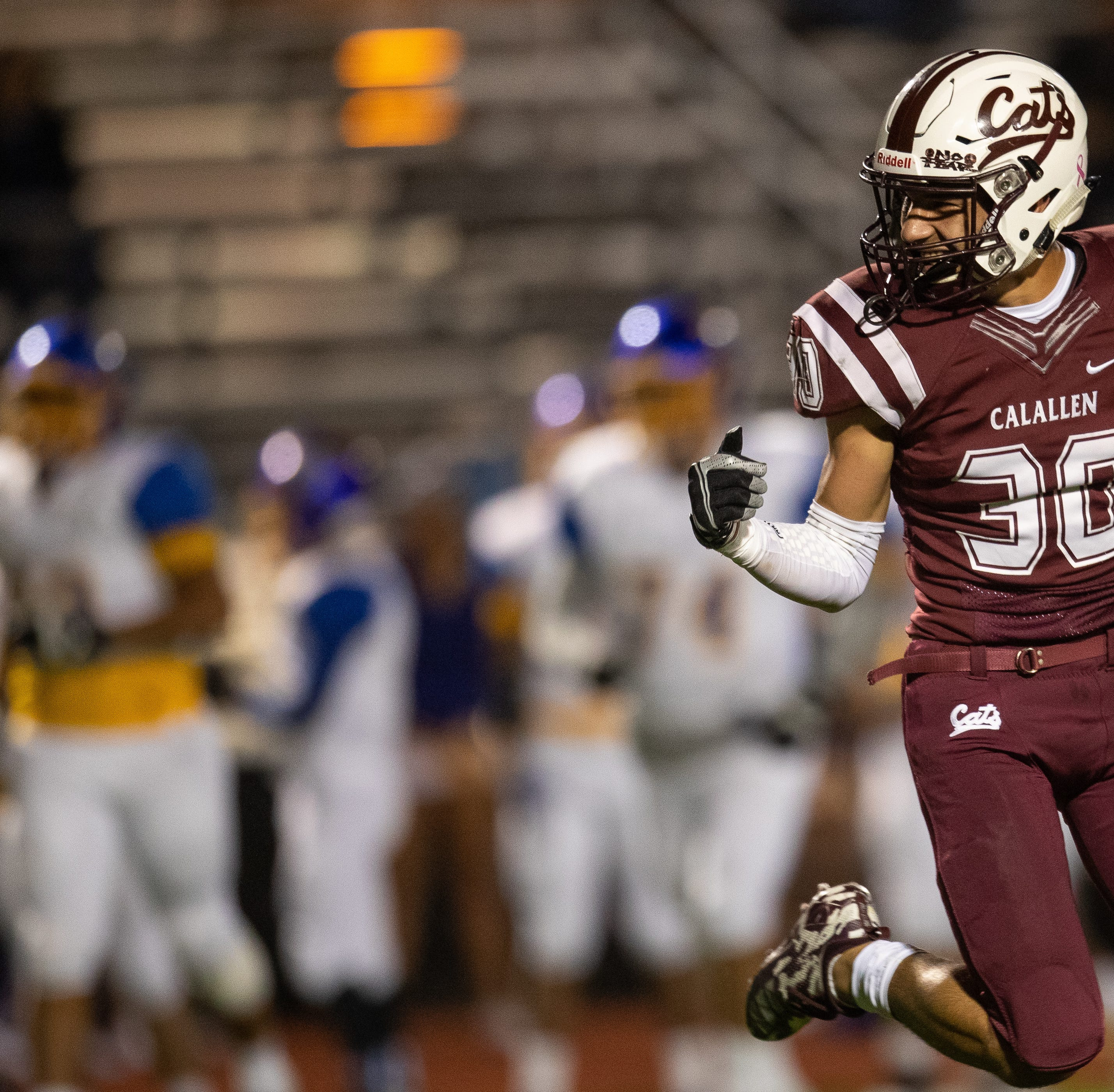 ROOM TO GROW: After starting season young and inexperienced, Calallen finds stride