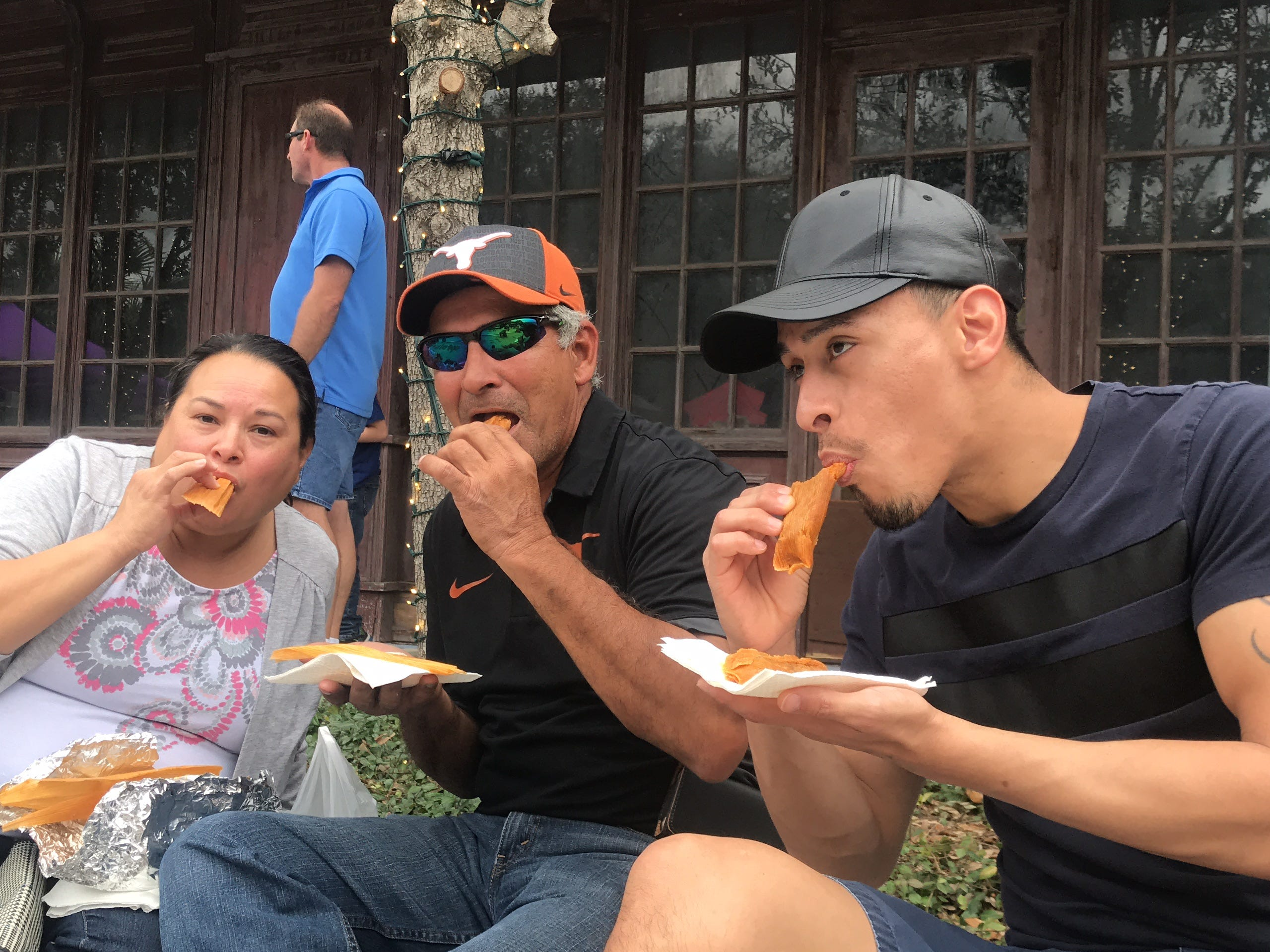 See why Corpus Christi loves eating tamales at the Hot Tamale Fest