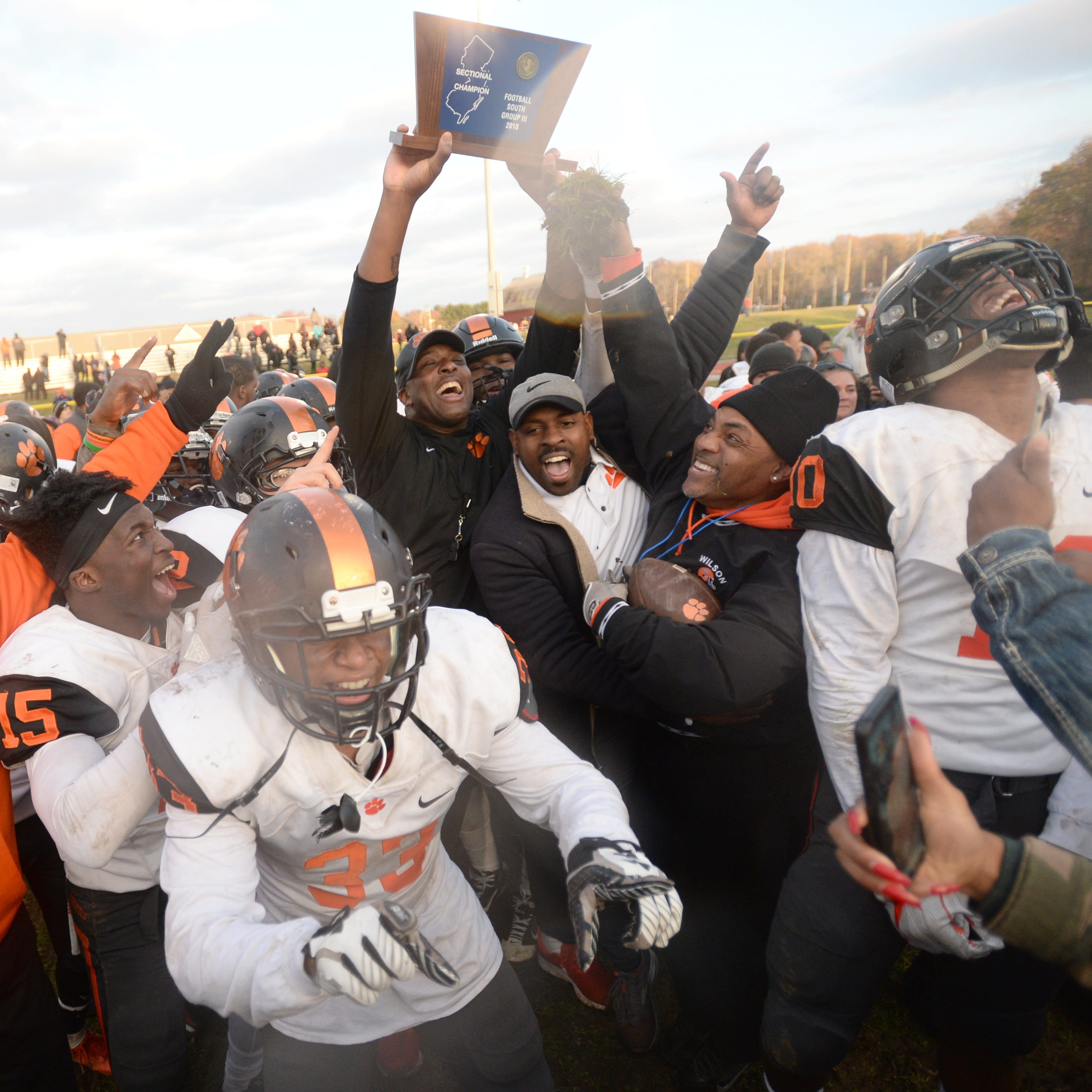 South Jersey football: Woodrow Wilson celebrates first championship since 2001