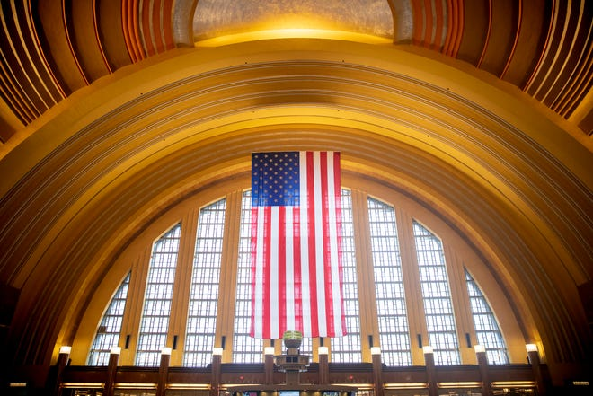 After two years of construction, Cincinnati Museum Center at Union Terminal opens to the public.