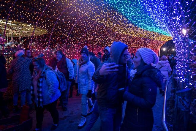 Festival of Lights opens Nov. 16 at the Cincinnati Zoo and Botanical Gardens.
