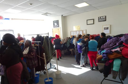 On Sunday, Nov. 11, the volunteers at the Perth Amboy St. Vincent dePaul Food Pantry distributed 456 coats and over 100 blankets at their annual Coat and Blanket Drive.