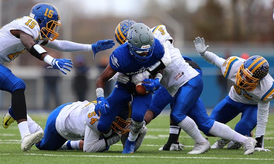 North Brunswick at Sayreville football in the NJSIAA Central Group V final on Saturday, Nov. 17, 2018.