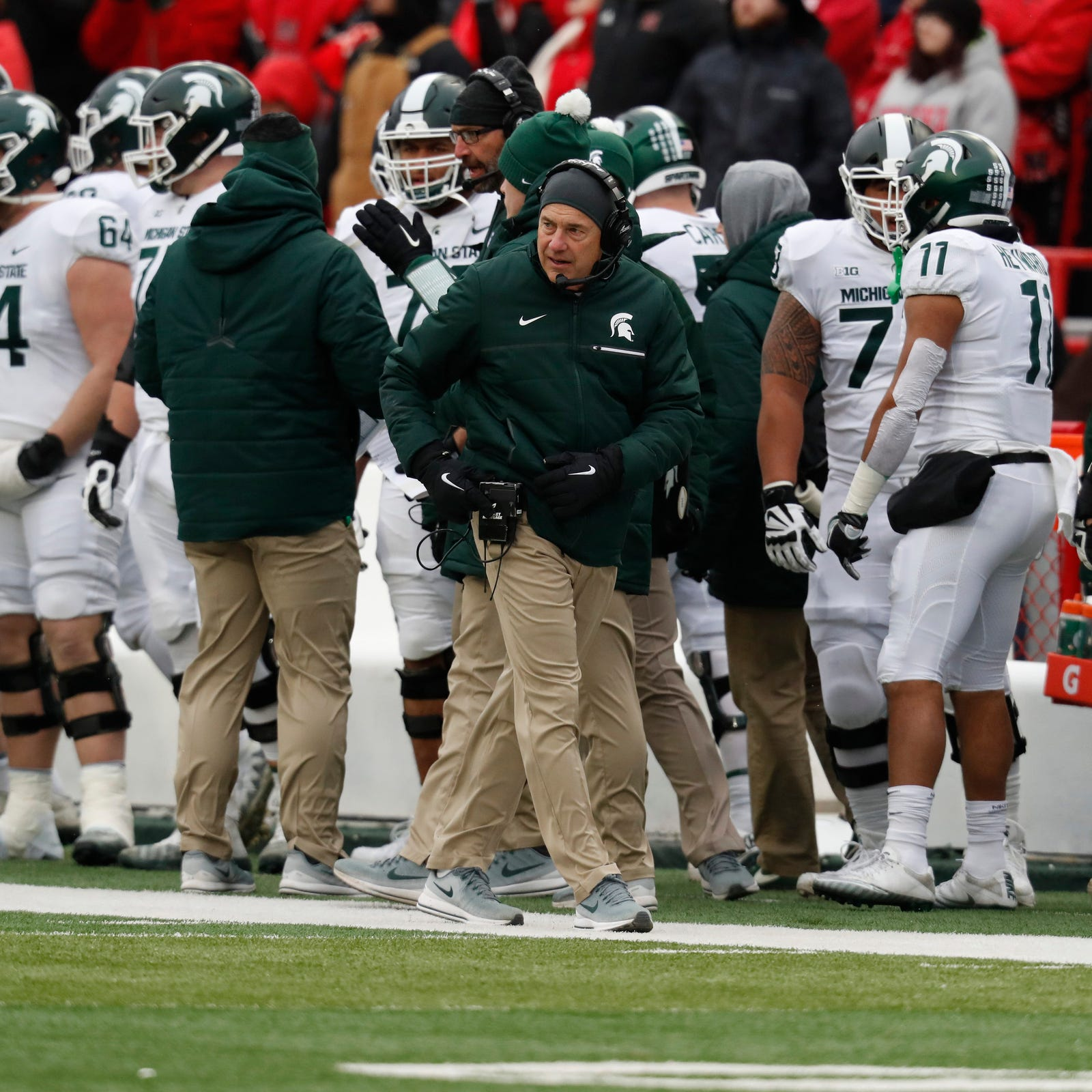 Mark Dantonio making calls on offense now, has tougher decisions ahead