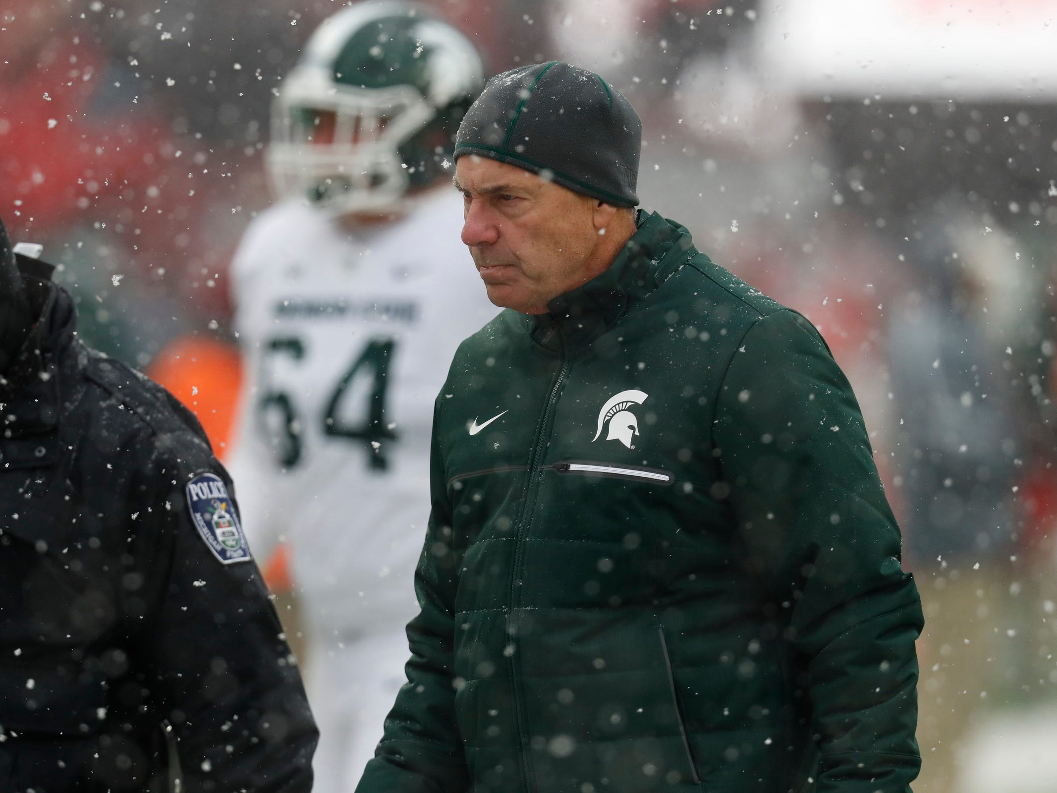 MSU's Mark Dantonio shuffles staff, names new offensive coordinator