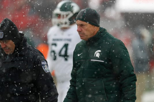 Sad Michigan State, Sad Mark Dantonio