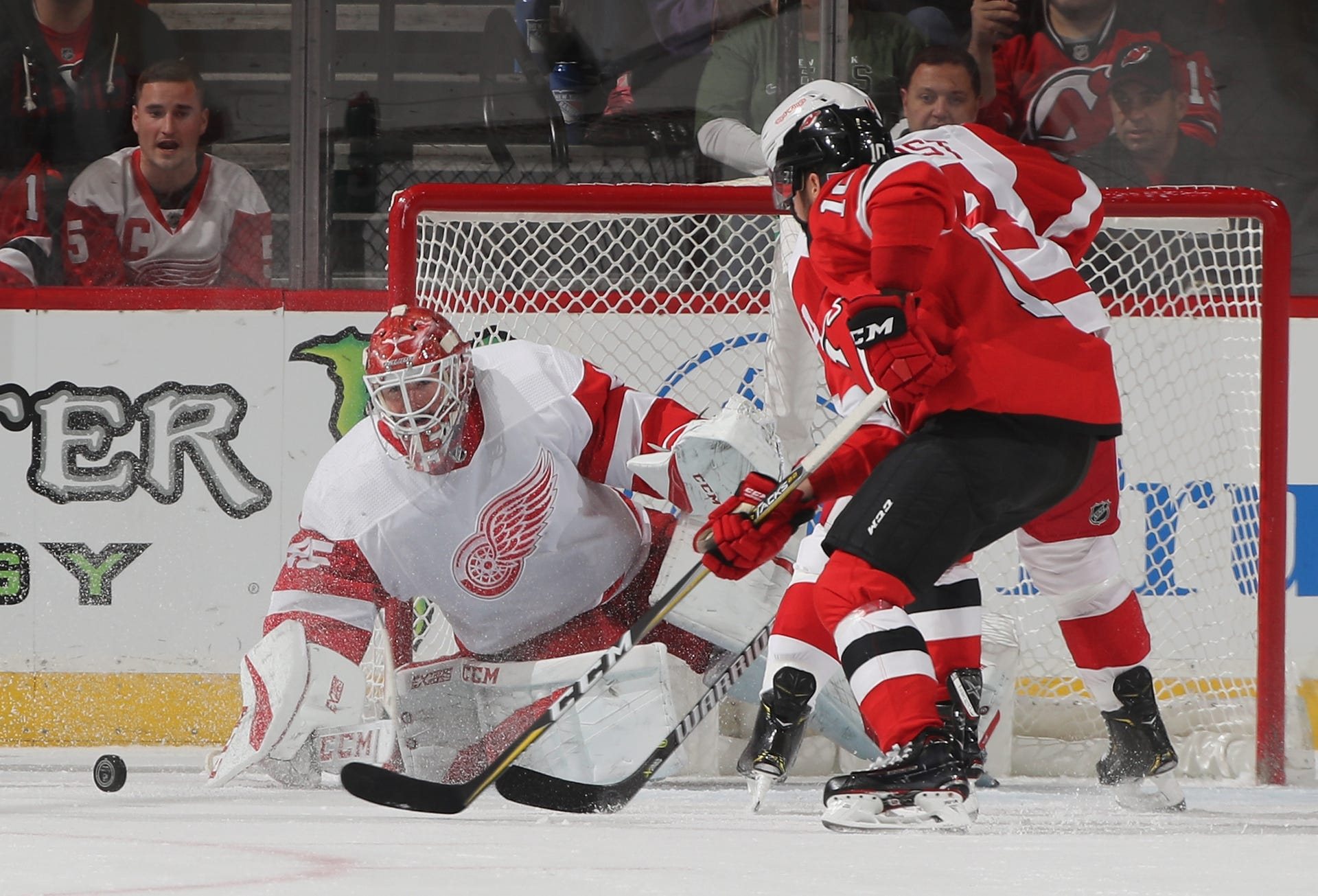wholesale dealer 1f990 71a27 Detroit Red Wings 3, New Jersey Devils 2 (OT): Photos from ...