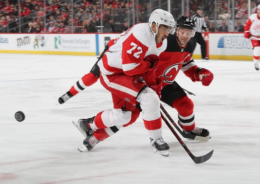 Detroit Red Wings V New Jersey Devils