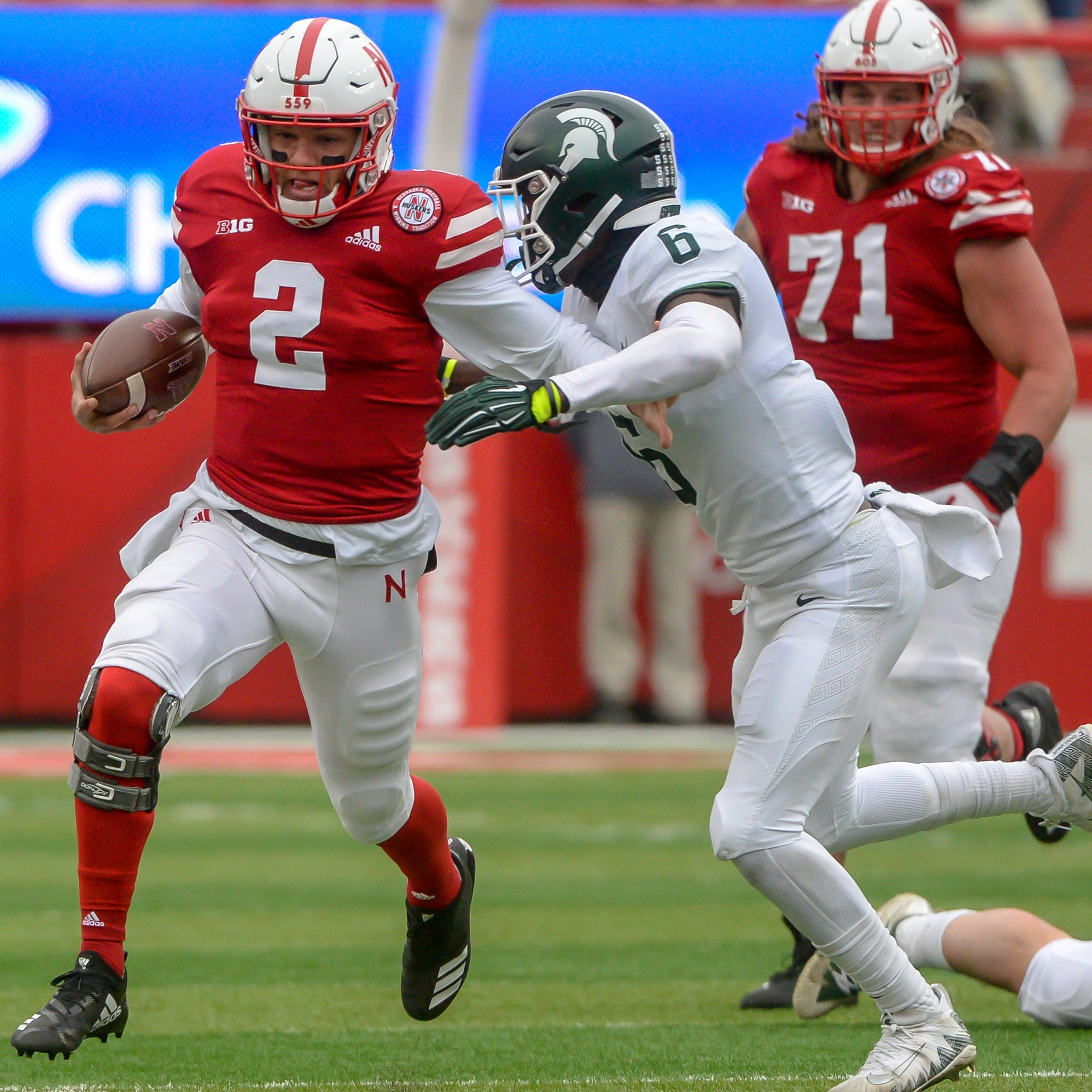 Michigan State football offense goes cold in 9-6 loss at Nebraska