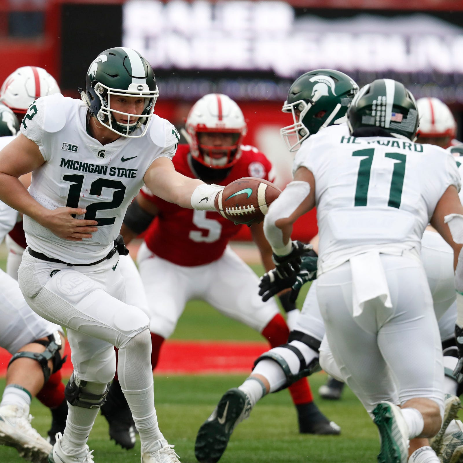 Michigan State football's Connor Heyward: Don't blame Dave Warner