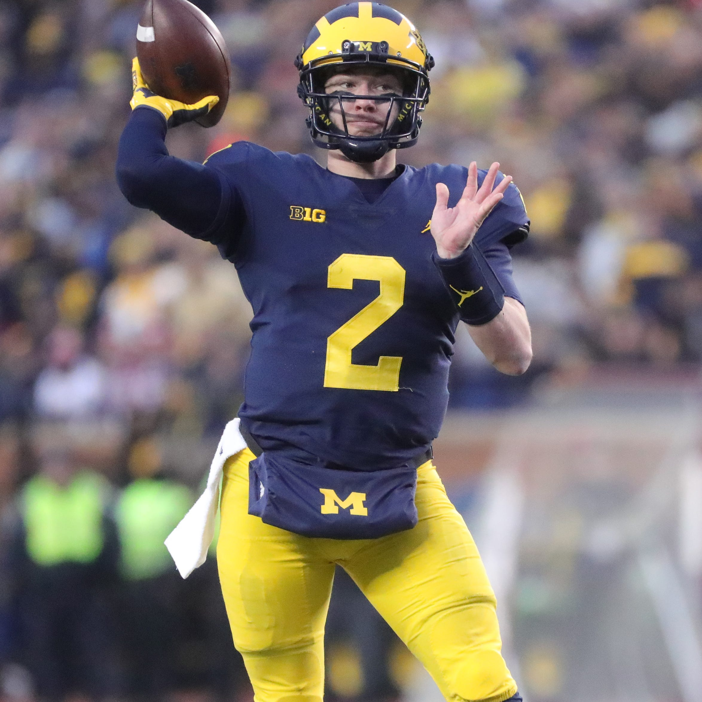 Michigan QB Shea Patterson's NFL decision an interesting one
