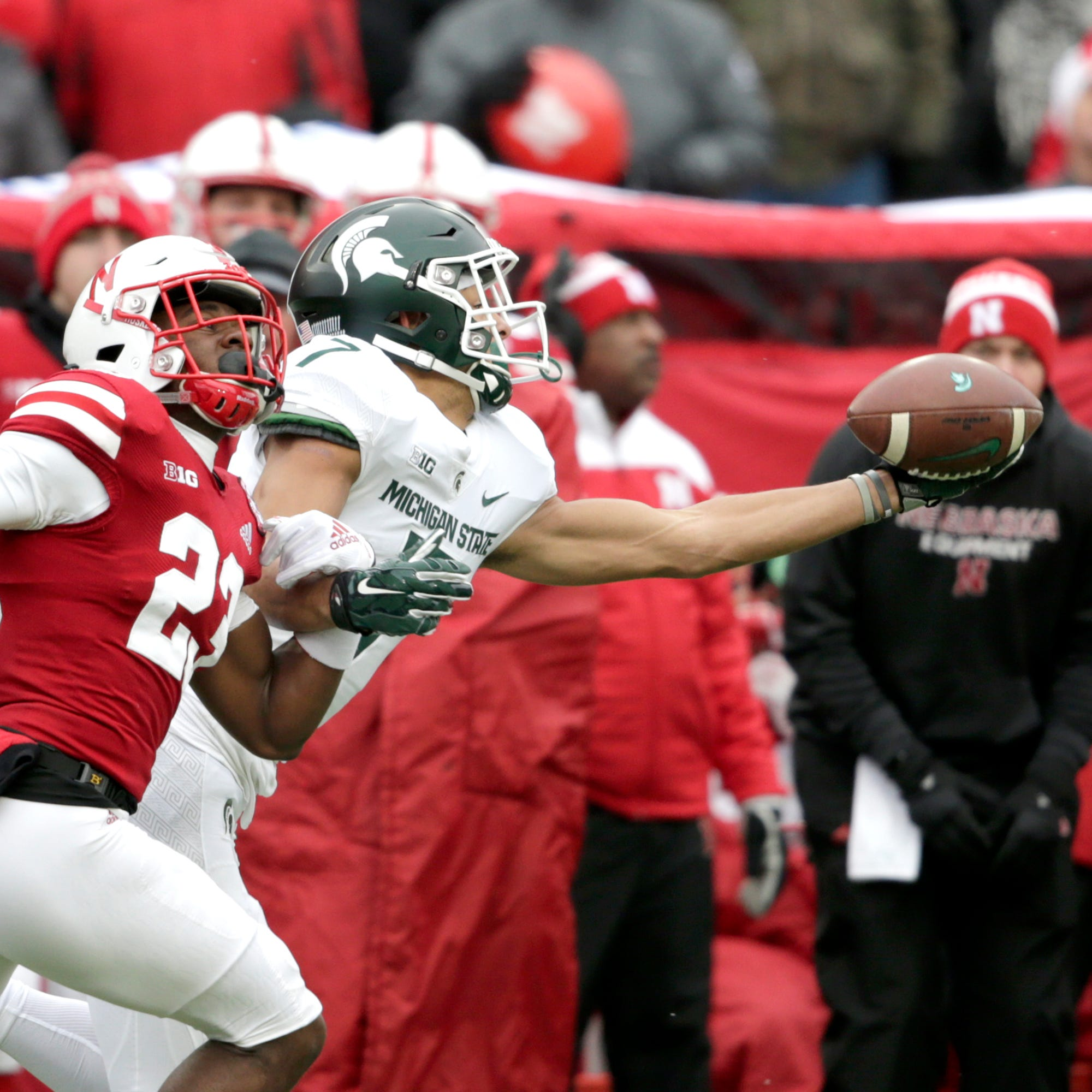 MSU's offense a no-show in loss to Nebraska