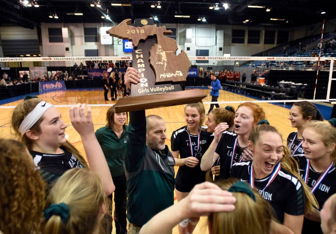 Lake Orion, G.R. Christian win volleyball crowns