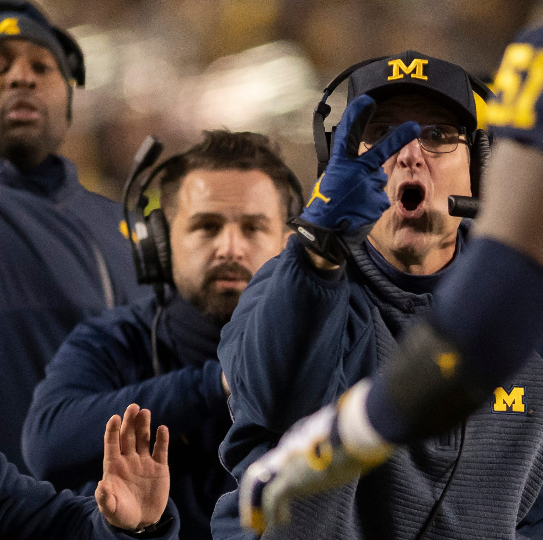 Live updates: Jim Harbaugh Monday news conference