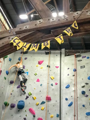 With a variety of difficulty levels, climbing can be anywhere from a social workout to striving for personal gains.