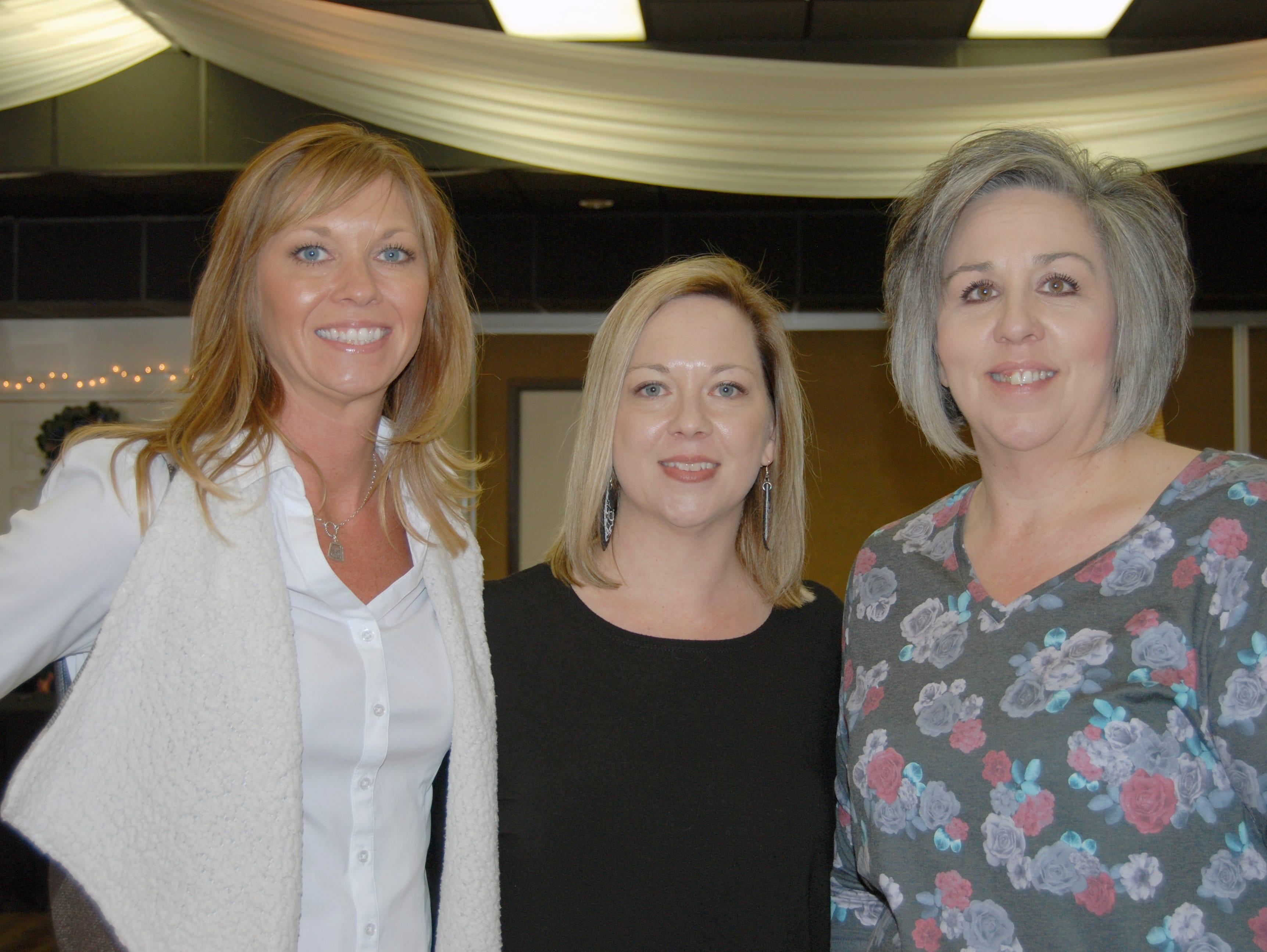 Sarah Watson, Amber Mase, Shanna Long
