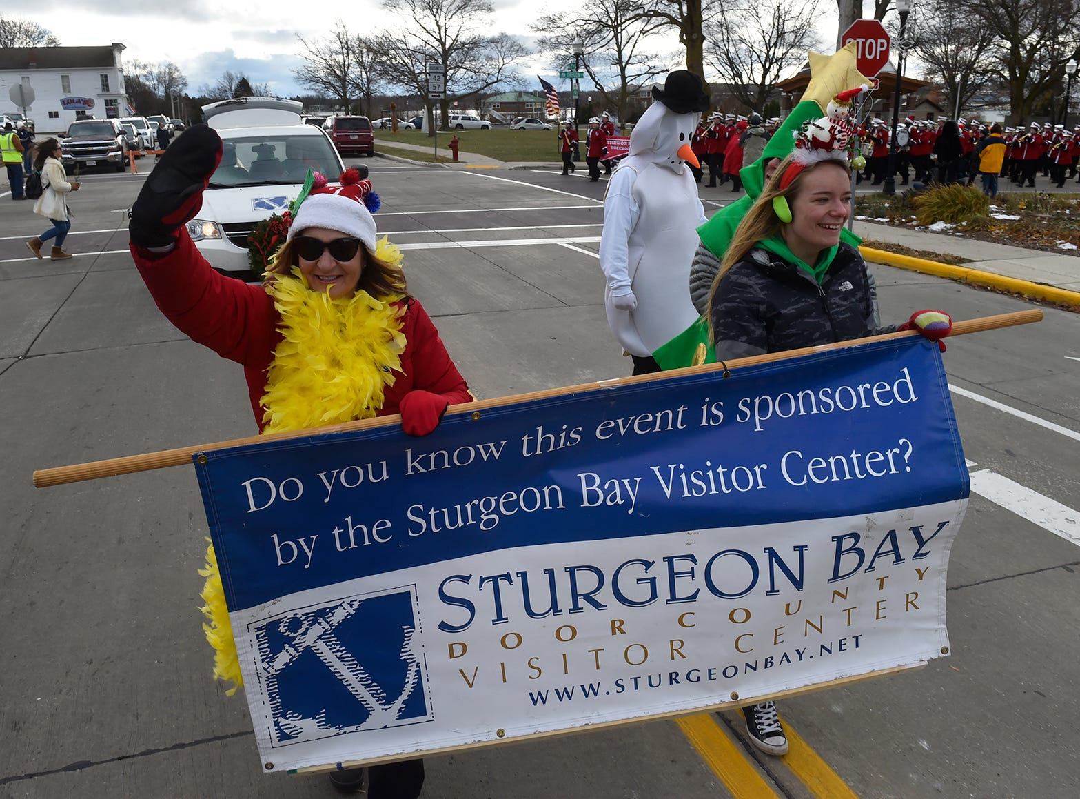 The annual parade is sponsored by the Sturgeon Bay Visitor Center on Saturday, Nov. 17, 2018, in Sturgeon Bay. Tina M. Gohr/USA TODAY NETWORK-Wisconsin