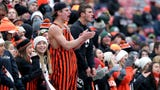Sights and sounds from day 2 of the WIAA state football tournament Nov. 16, 2018 at Camp Randall in Madison, Wis.