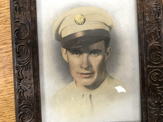 Ray B. Brady entered the service in the mid-1940s and was sent to the Pacific.