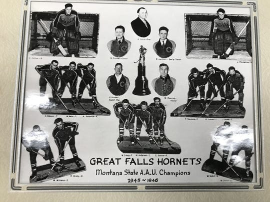 The Great Falls Hornets were a state championship hockey team in the winter of 1945-46.