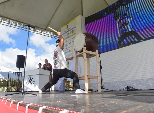 during the 39th Japan Autumn Festival at the Gov. Joseph A. Flores Memorial Park in Tumon, Nov. 17, 2018.