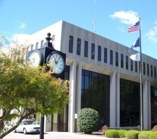 The Henderson city building