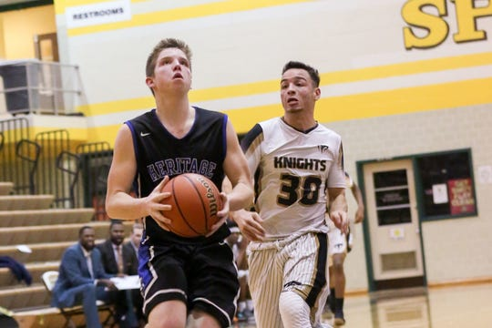 Andrew Williams averaged 14.2 points a game last season for Heritage Christian.