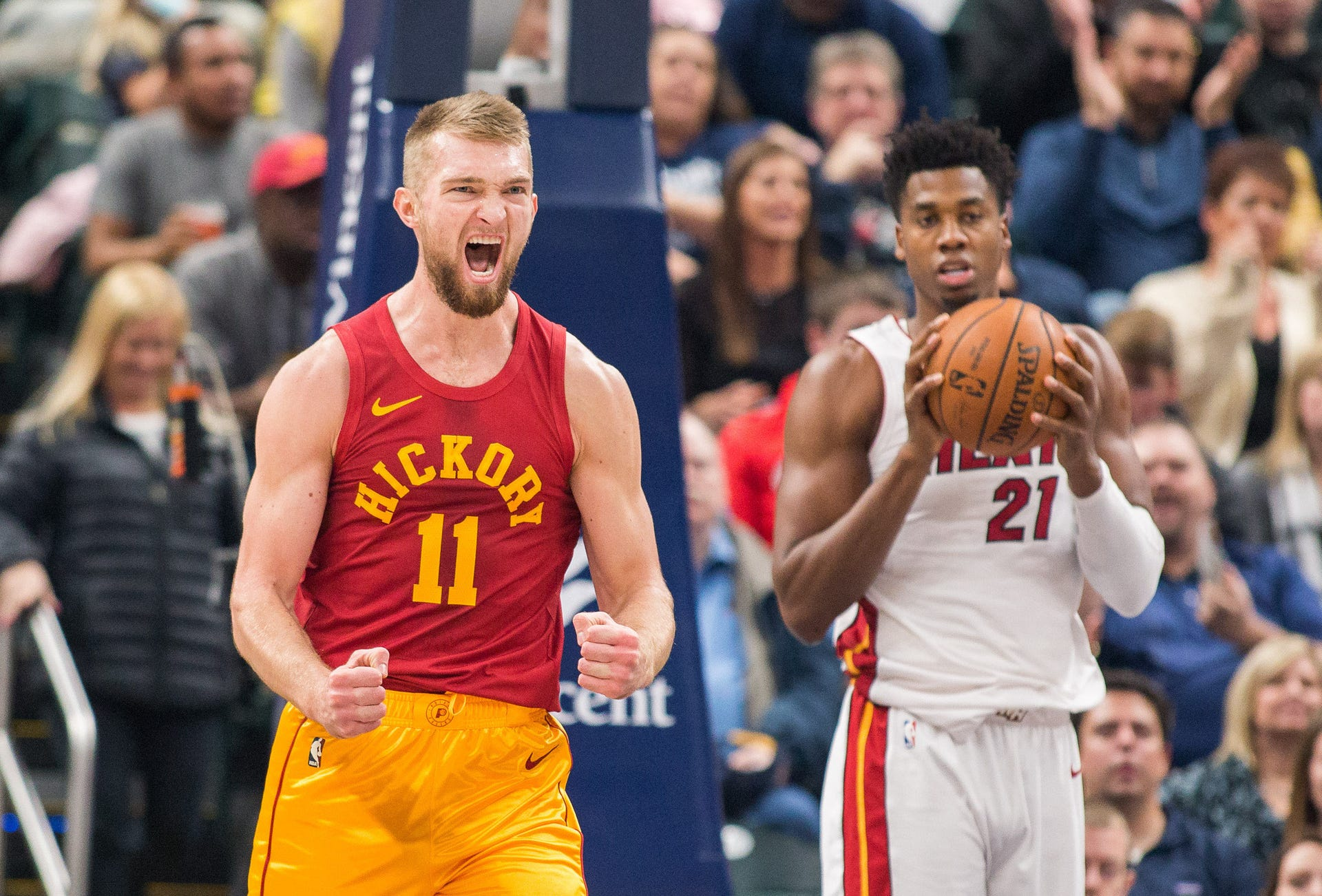 Photos: Pacers welcome Heat on Hickory night