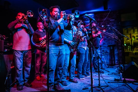 The Pork & Beans Brass Band will headline Friday's Marion County Public Defender Ball at Radio Radio.
