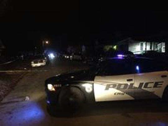 One victim was seriously injured in a shooting Friday night near the intersection of First and Middle Streets in Jackson, Tenn.