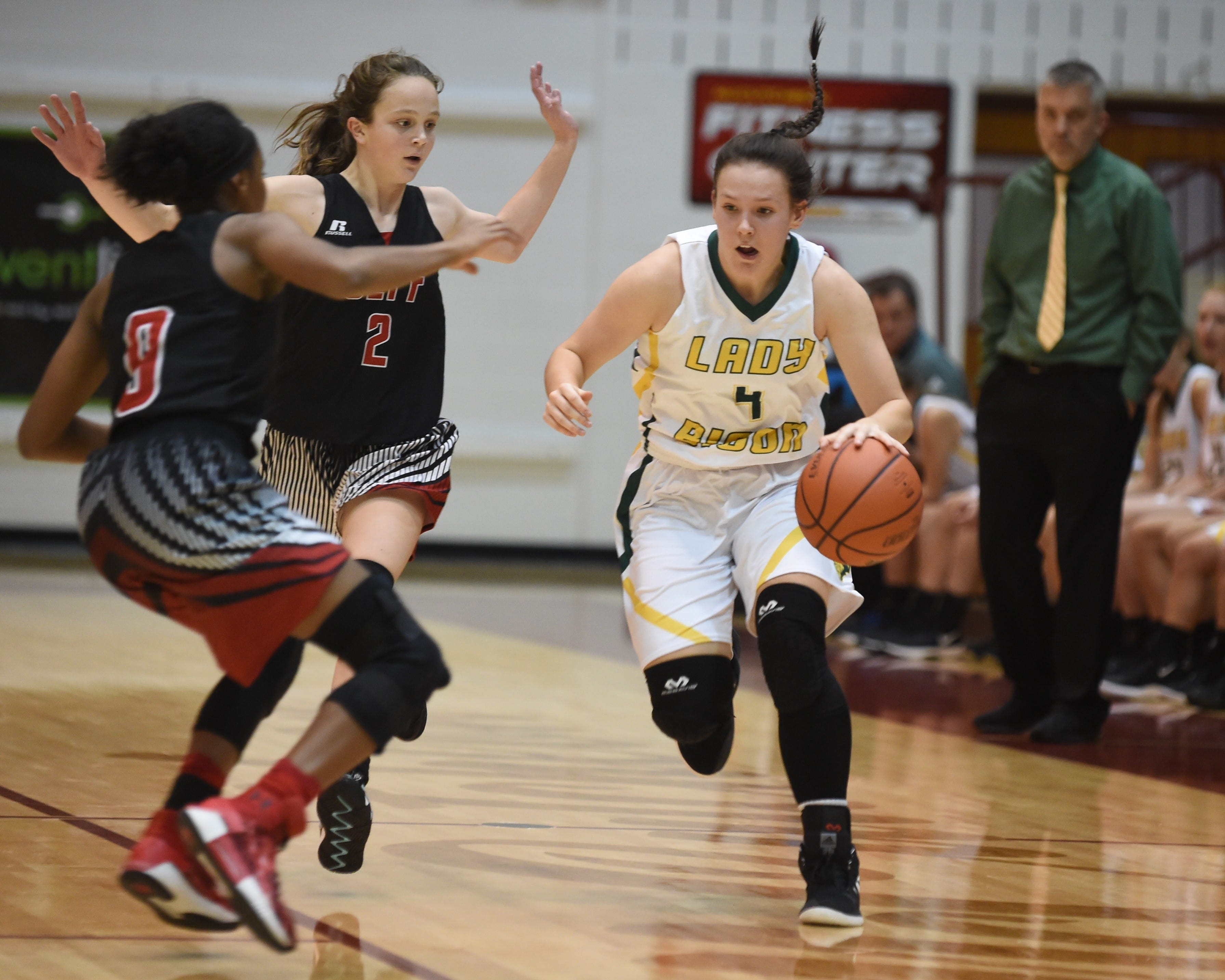 Junior Keely Meadows is one of the puzzle pieces that makes Benton Central's system work.