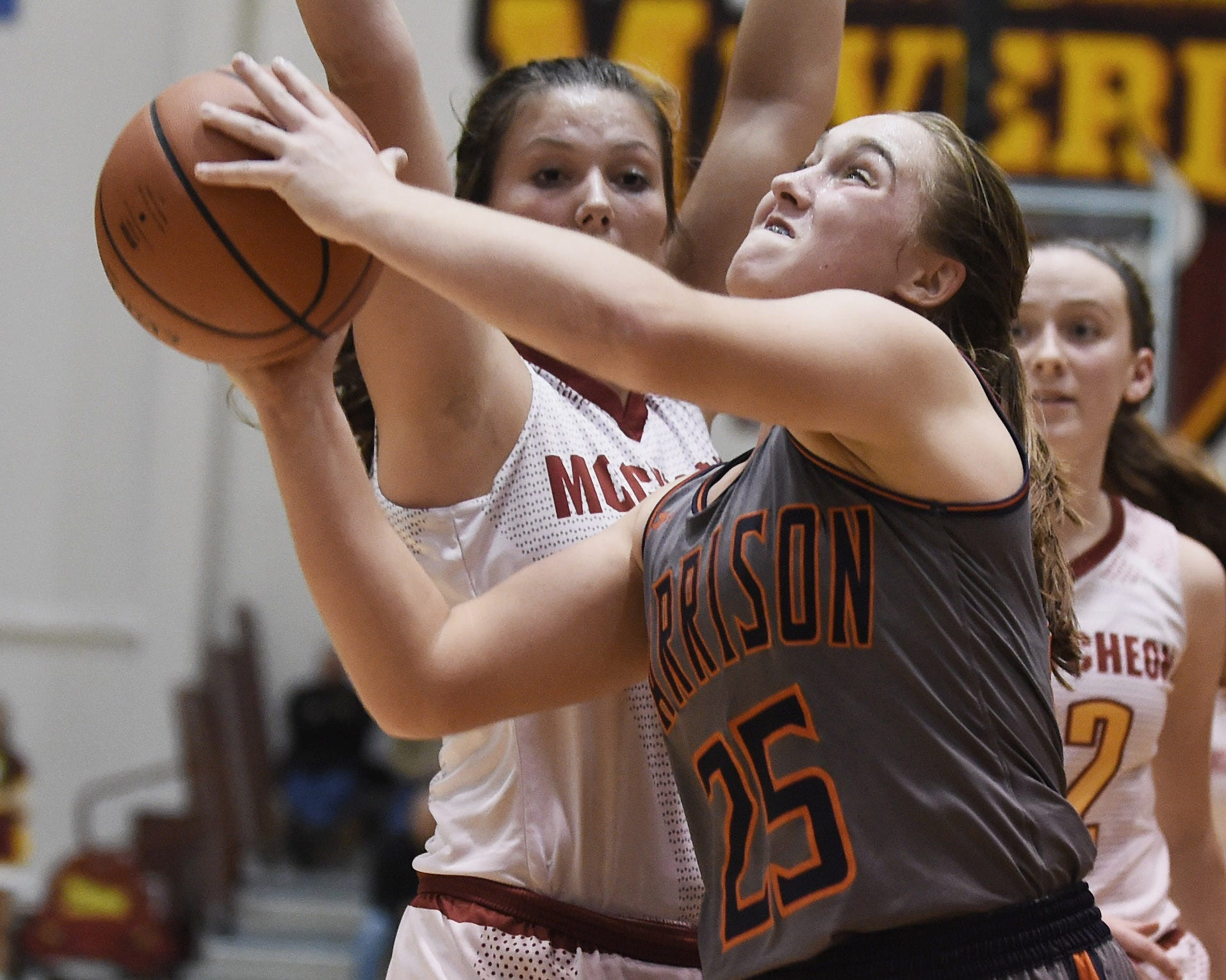 Emma Henderson scored nine points Friday night against McCutcheon to help the Raiders advance to the sectional championship.