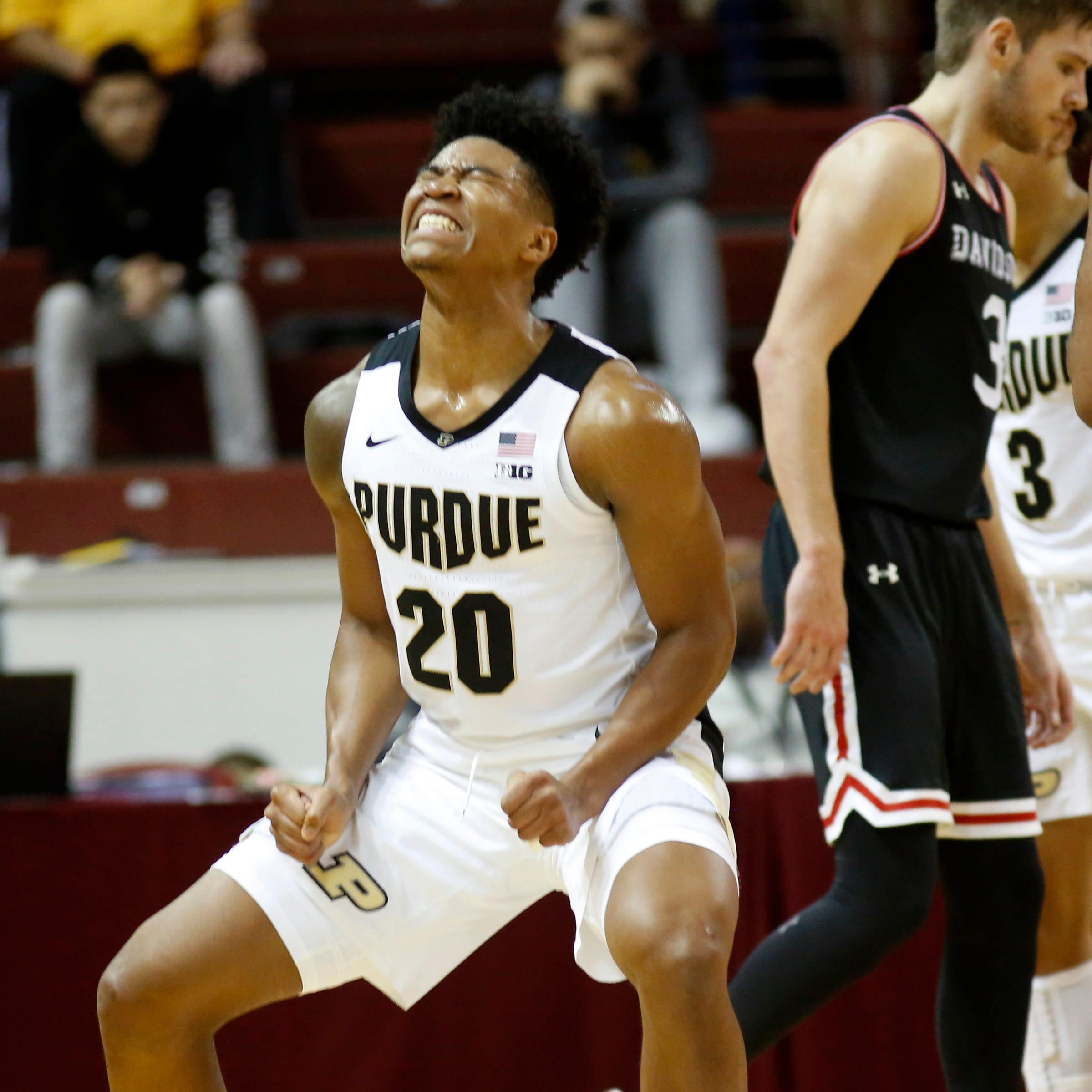Purdue basketball cruises past Davidson into Charleston Classic championship game
