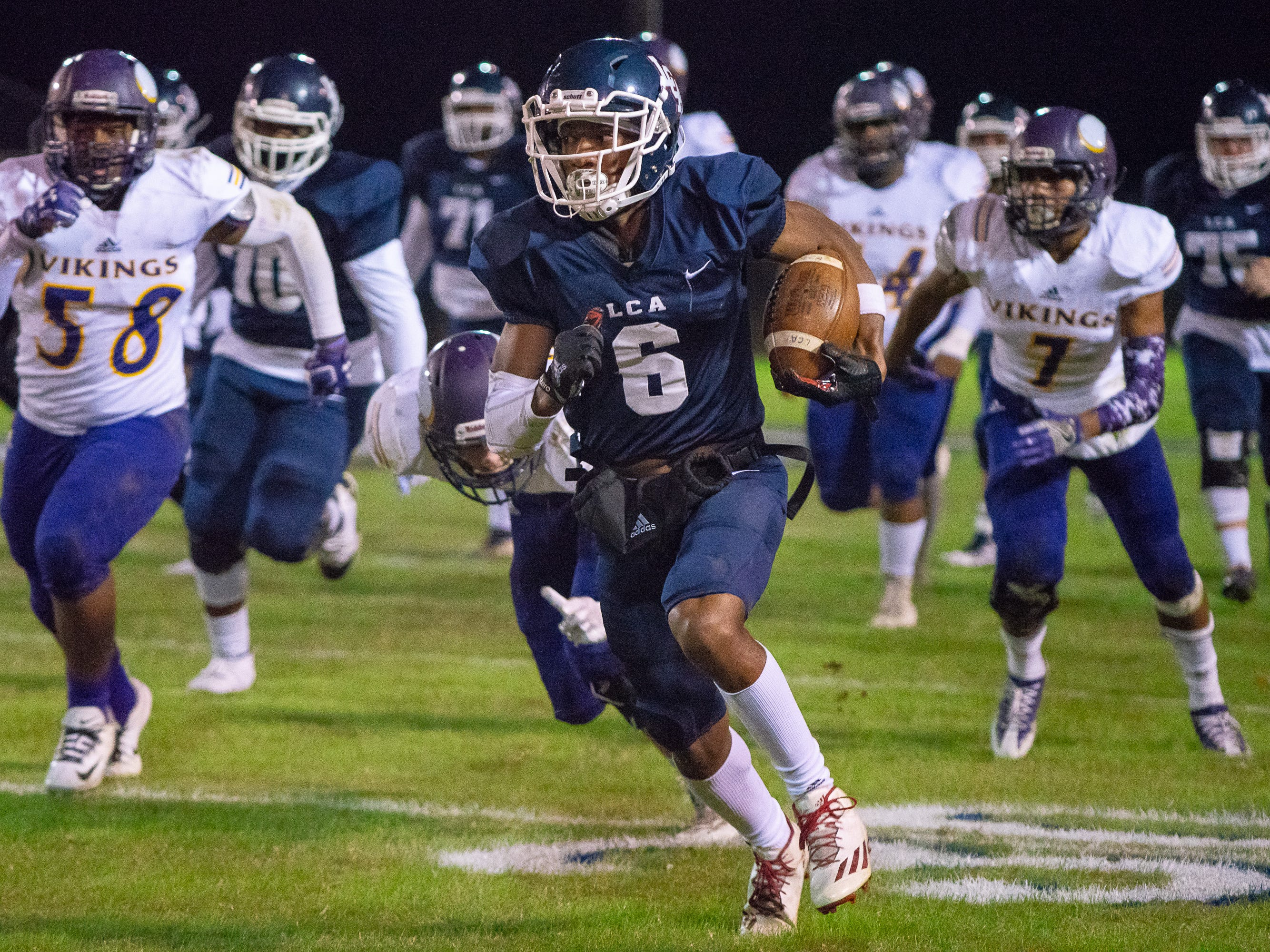 LCA loved the challenge, smack talk in quarterfinal win over Opelousas Catholic