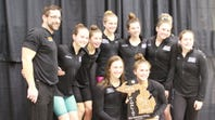 Brighton swimmers celebrate state runner-up finish