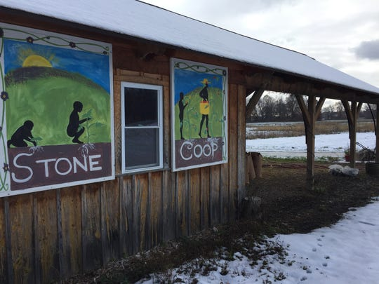 Stone Coop Farm in Green Oak Township, shown Saturday, Nov. 17, 2018, will close and move off its land.