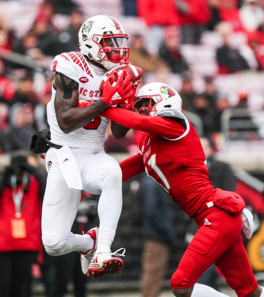Louisville Vs Nc State 2018 Action