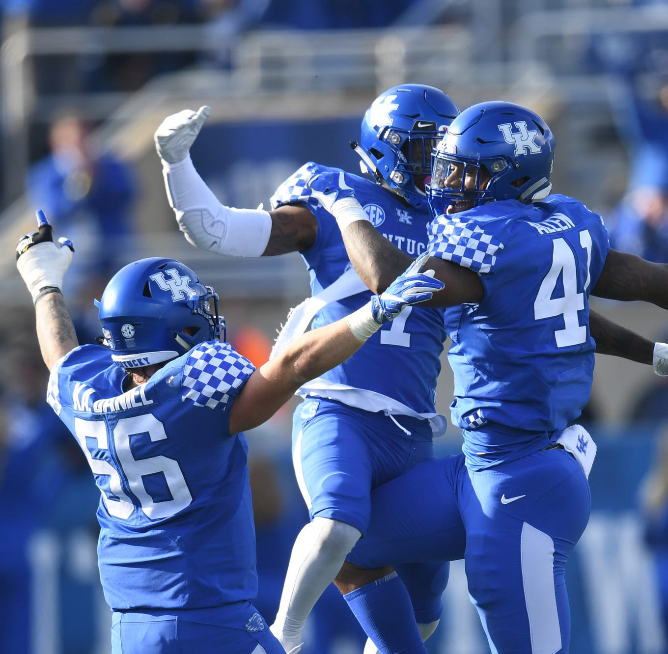 Where will UK football will go bowling after beating Middle Tennessee?