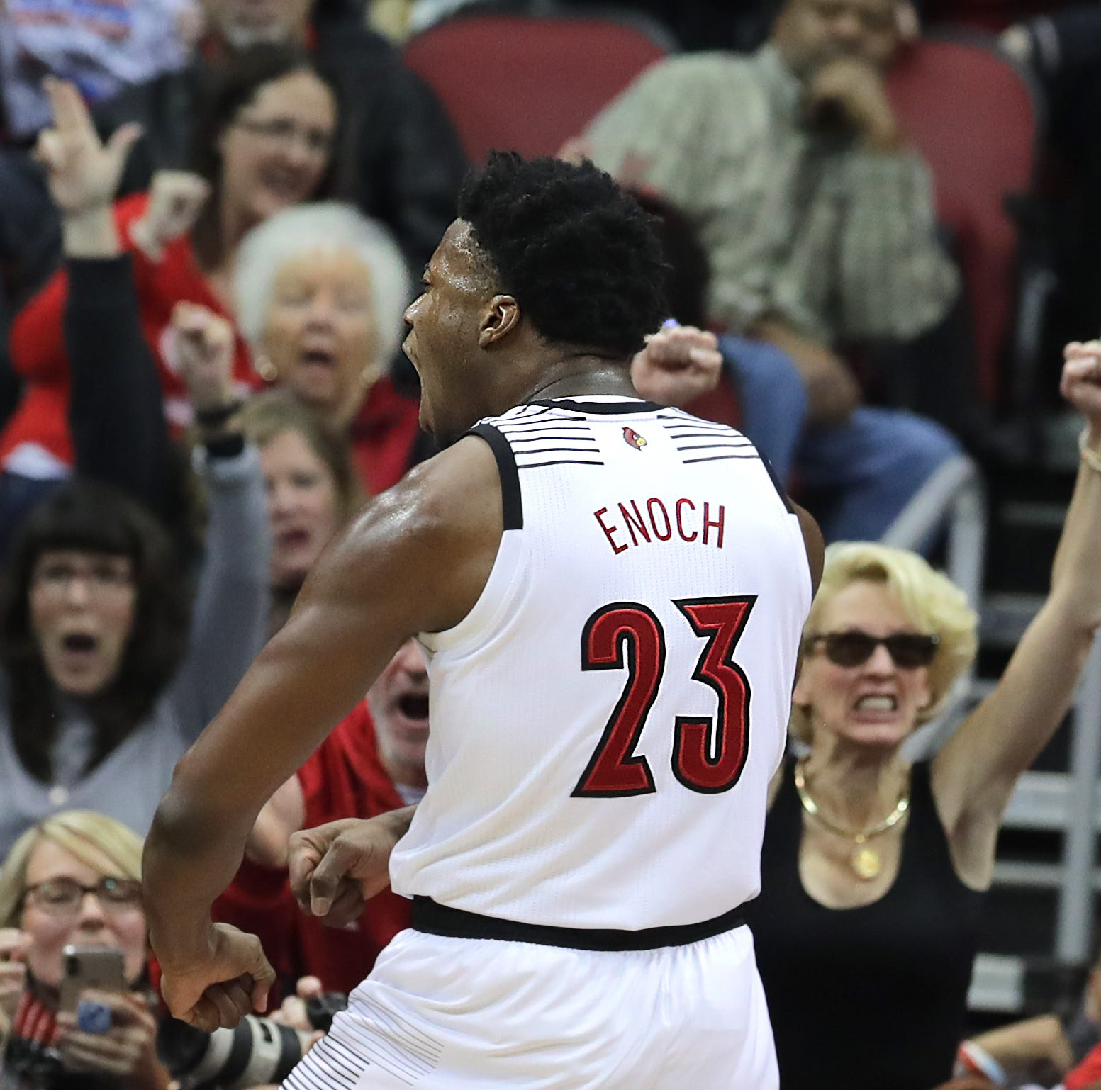 Steven Enoch finally finds his comfort zone with Louisville basketball