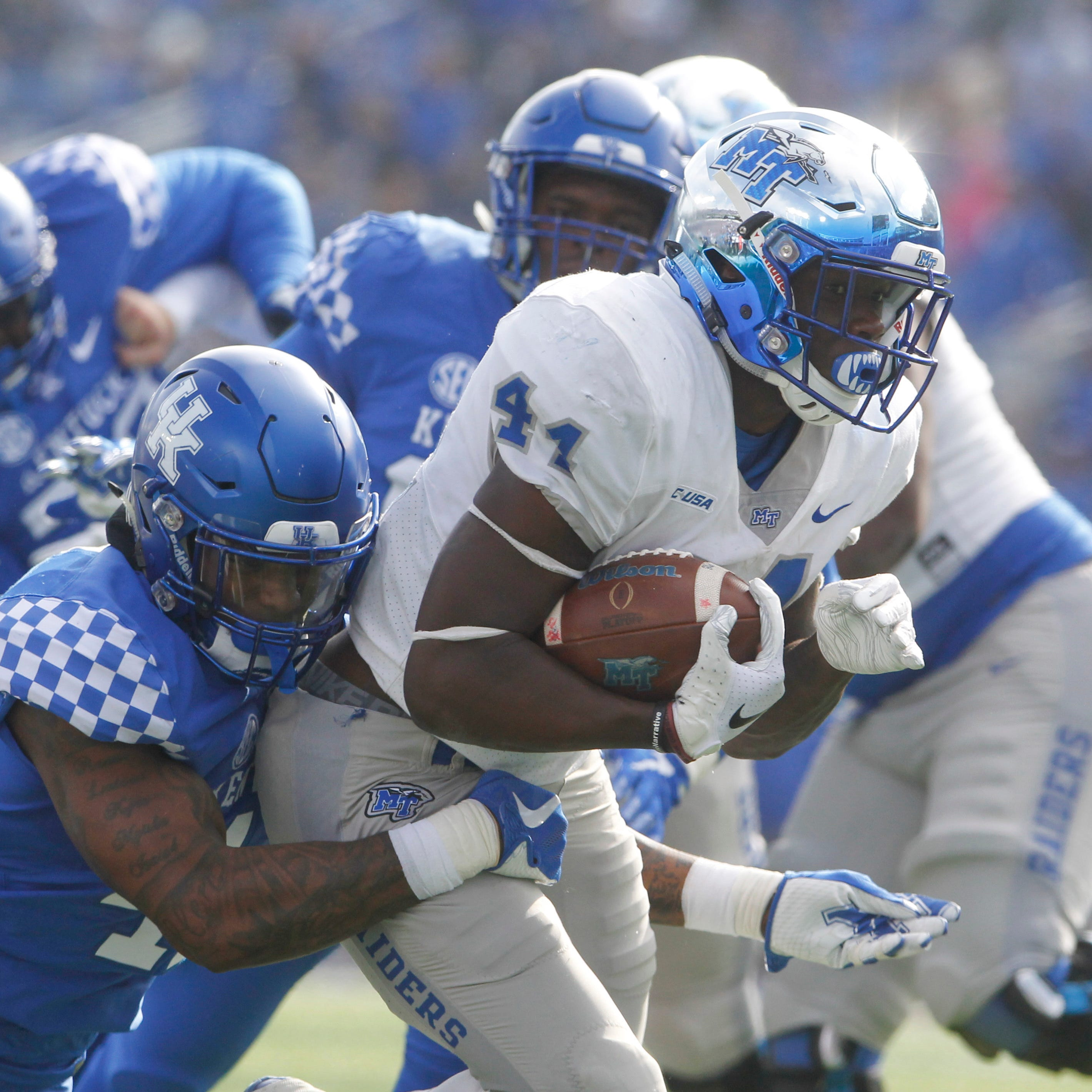 Kentucky football 34, MTSU 23: Five things we learned as Blue Raiders comeback falls short