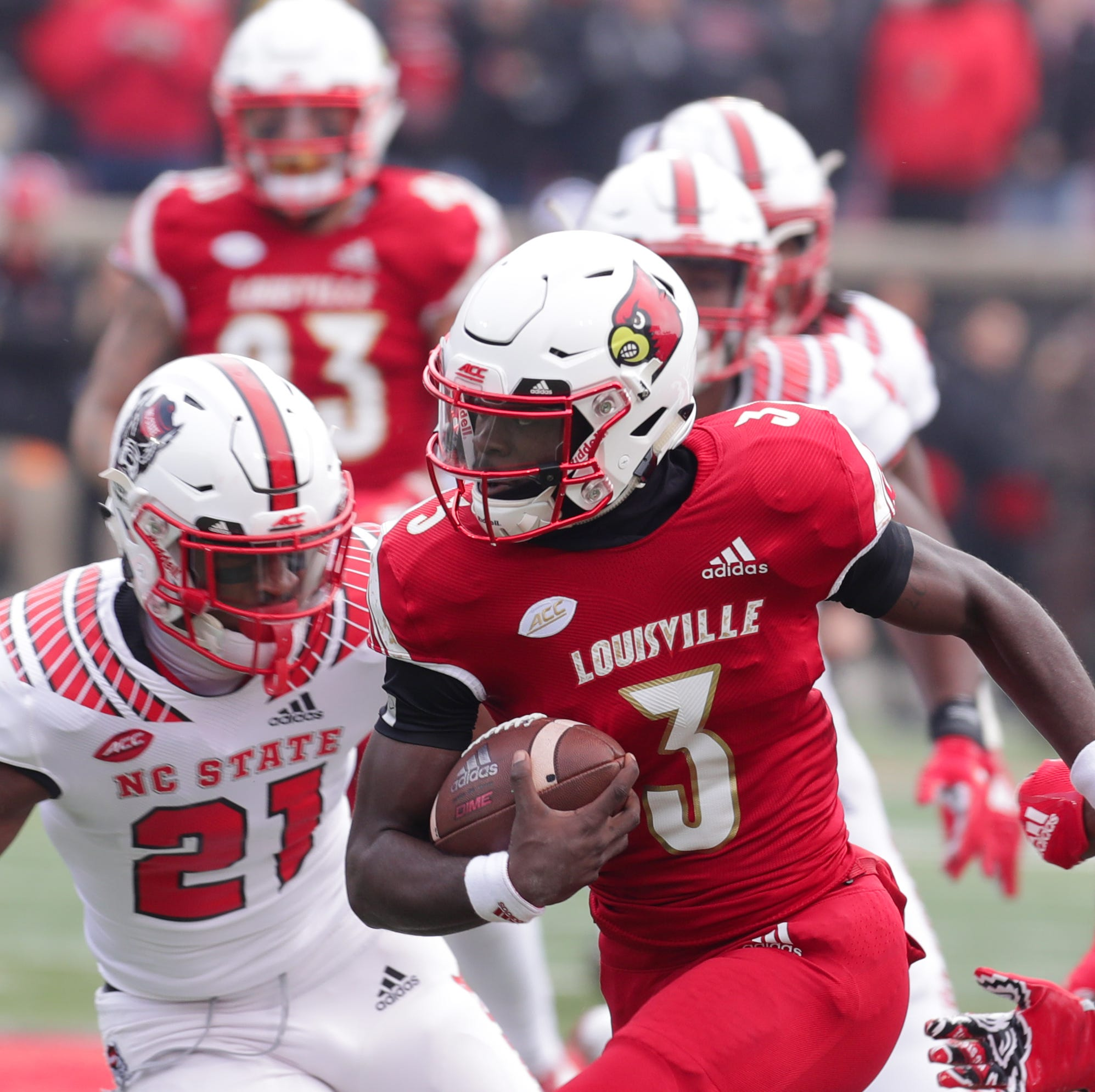 Louisville football's 2-quarterback strategy backfires against NC State